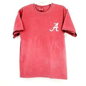 Alabama Crimson Tide garment dyed tshirt